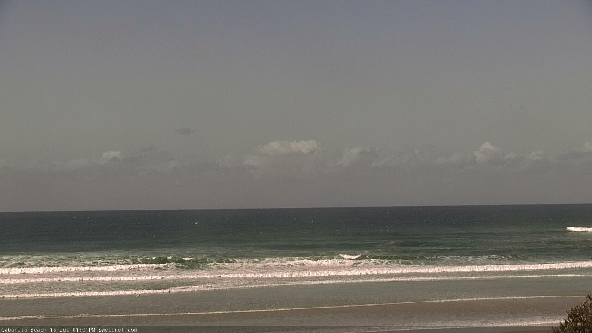 Cabarita Beach surfcam still image