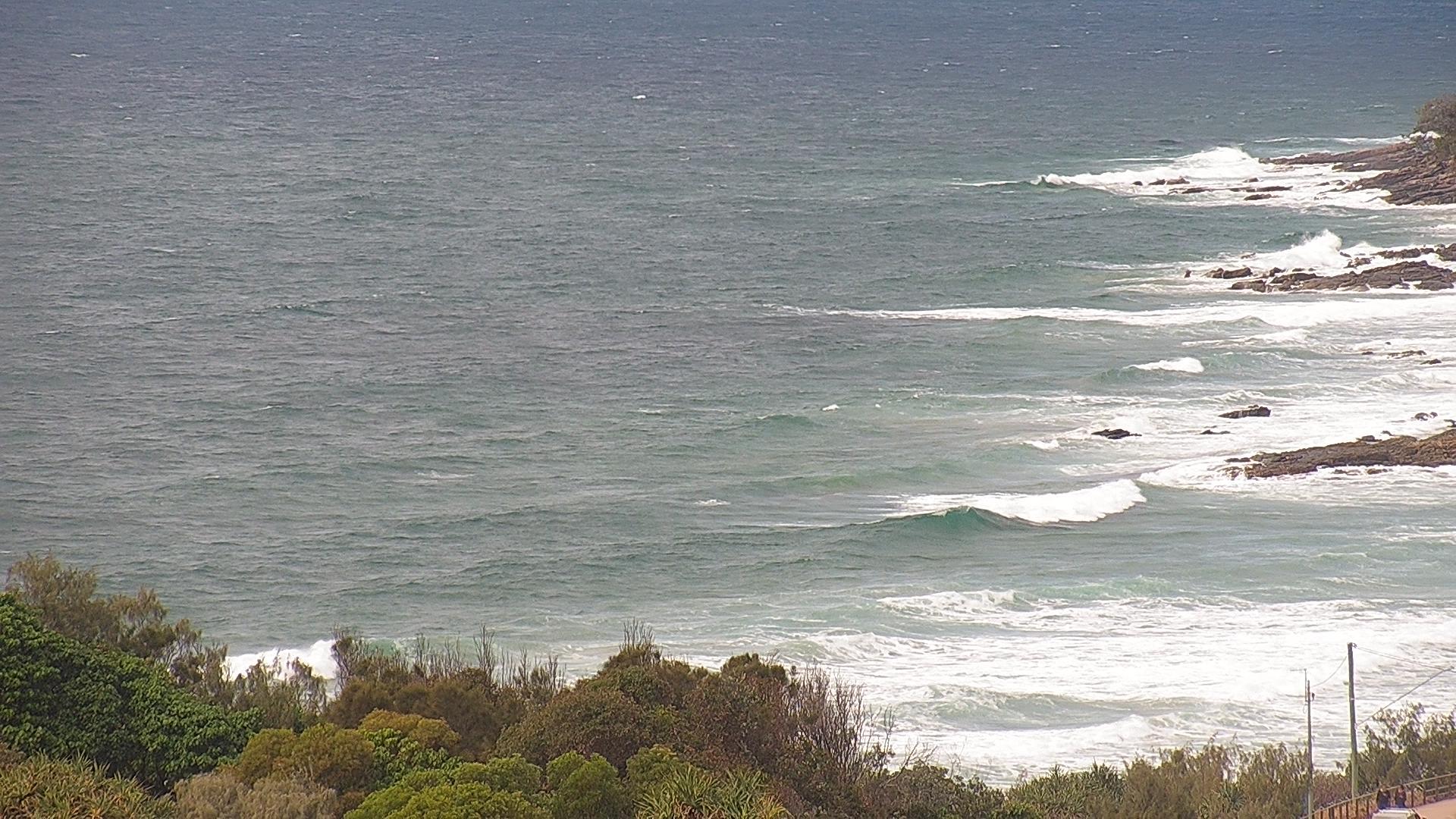 Coolum Bays surfcam still image